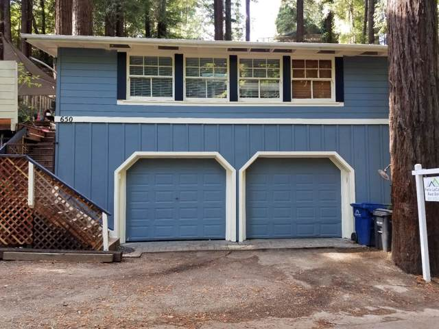 650 Lakeview Dr, Felton, CA 95018 (#ML81766796) :: The Goss Real Estate Group, Keller Williams Bay Area Estates