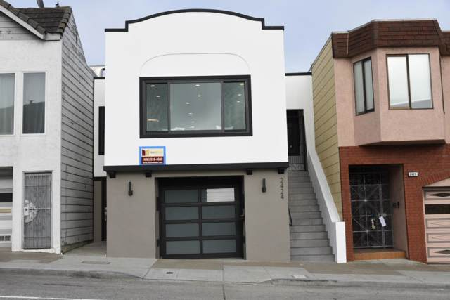 2424 19th Ave, San Francisco, CA 94116 (#ML81768483) :: Maxreal Cupertino