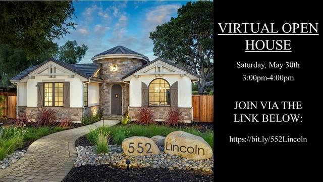 552 Lincoln Ave, Los Altos, CA 94022 (#ML81792495) :: The Kulda Real Estate Group