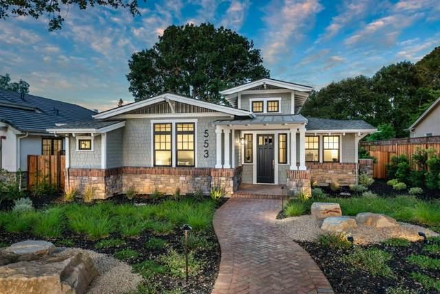 553 Palm Ave, Los Altos, CA 94022 (#ML81797175) :: Strock Real Estate