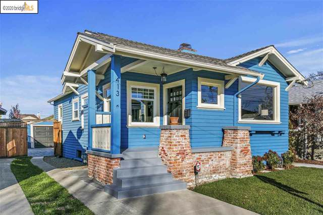413 Haight Ave, Alameda, CA 94501 (#EB40891715) :: The Kulda Real Estate Group