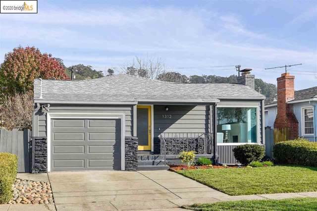 1312 Everett St, El Cerrito, CA 94530 (#EB40892773) :: Strock Real Estate