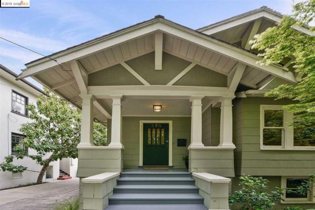 375 62nd St, Oakland, CA 94618 (#EB40864520) :: Strock Real Estate