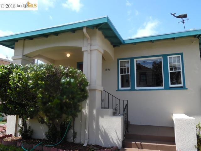 1545 Morton St, Alameda, CA 94501 (#EB40817339) :: The Gilmartin Group
