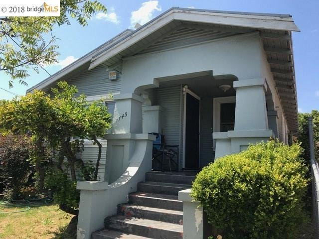 1745 67Th Ave, Oakland, CA 94621 (#EB40822711) :: The Goss Real Estate Group, Keller Williams Bay Area Estates