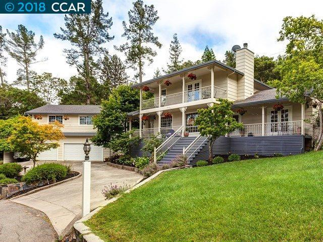 9 Rich Acres Road, Orinda, CA 94563 (#CC40823247) :: The Dale Warfel Real Estate Network