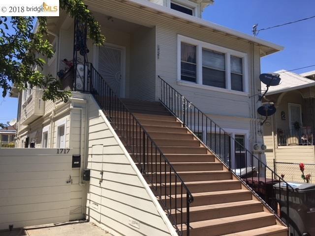 1717 38th Ave, Oakland, CA 94601 (#EB40829636) :: The Goss Real Estate Group, Keller Williams Bay Area Estates