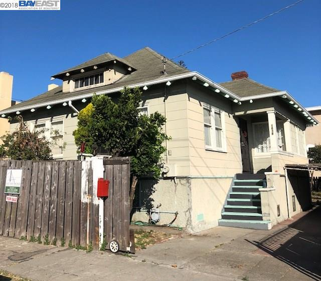 1636 18Th Ave, Oakland, CA 94606 (#BE40835021) :: Strock Real Estate
