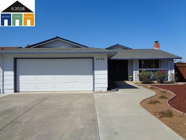 2488 Becket Drive, Union City, CA 94587 (#MR40839820) :: Perisson Real Estate, Inc.