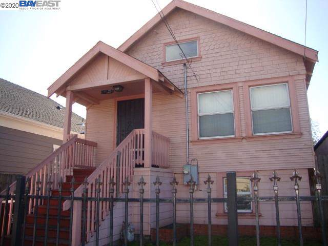 4025 E 18Th St, Oakland, CA 94601 (#BE40892235) :: The Realty Society