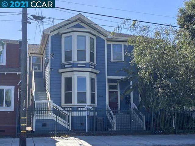 824 Peralta St, Oakland, CA 94607 (#CC40948792) :: Schneider Estates