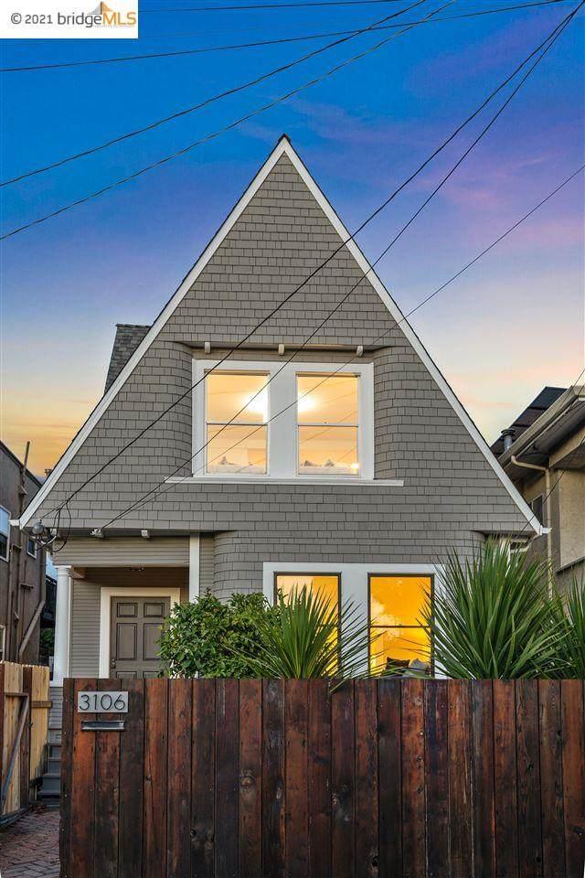 3106 Magnolia, Oakland, CA 94608 (#EB40954639) :: Schneider Estates