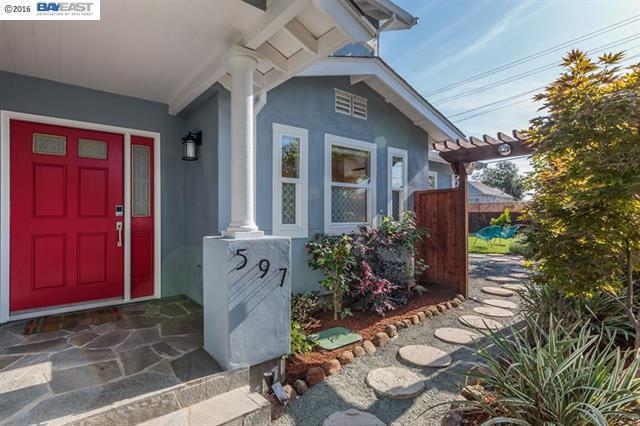 597 59th St, Oakland, CA 94609 (#ML81705630) :: Strock Real Estate