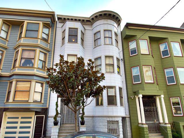 1318 Larkin St, San Francisco, CA 94109 (#ML81775334) :: The Gilmartin Group