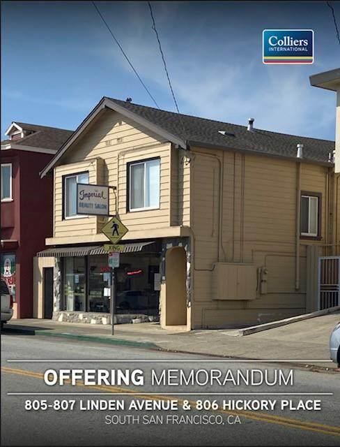 805-807 Linden, South San Francisco, CA 94080 (#ML81837560) :: The Gilmartin Group