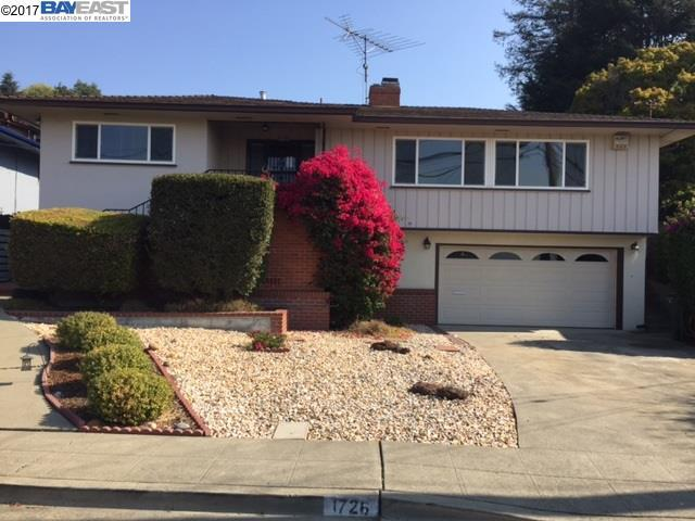 1726 Benedict Dr, San Leandro, CA 94577 (#BE40802799) :: The Goss Real Estate Group, Keller Williams Bay Area Estates