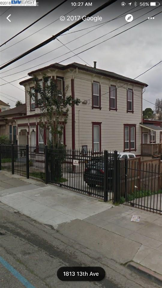 1822 13th Avenue, Oakland, CA 94606 (#BE40814374) :: The Dale Warfel Real Estate Network