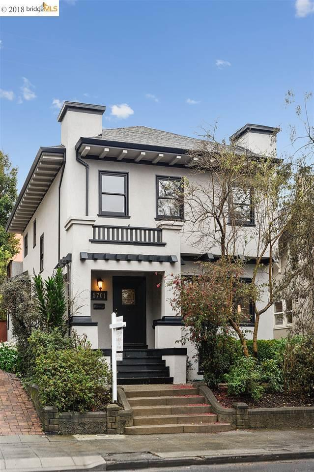 5701 Keith Ave, Oakland, CA 94618 (#EB40813785) :: The Dale Warfel Real Estate Network