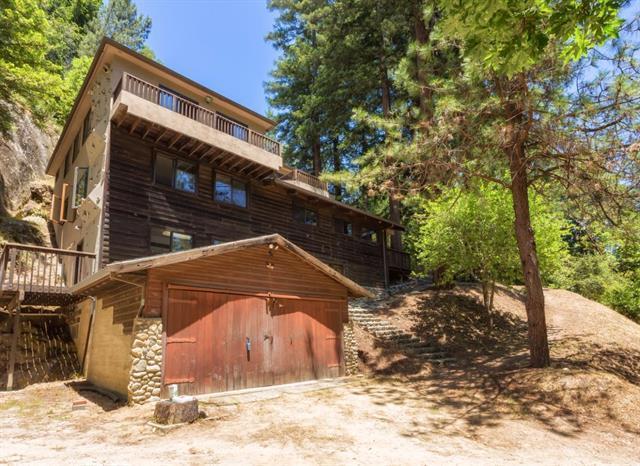 333 Wooded, Boulder Creek, CA 95006 (#ML81691118) :: The Goss Real Estate Group, Keller Williams Bay Area Estates