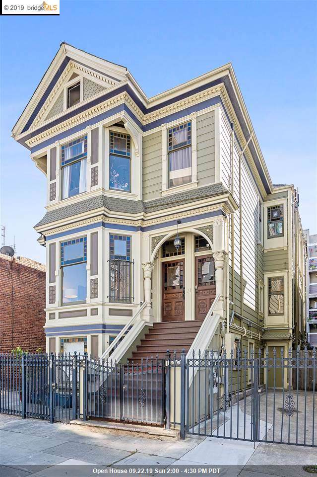 609 18Th St, Oakland, CA 94612 (#EB40882817) :: RE/MAX Real Estate Services