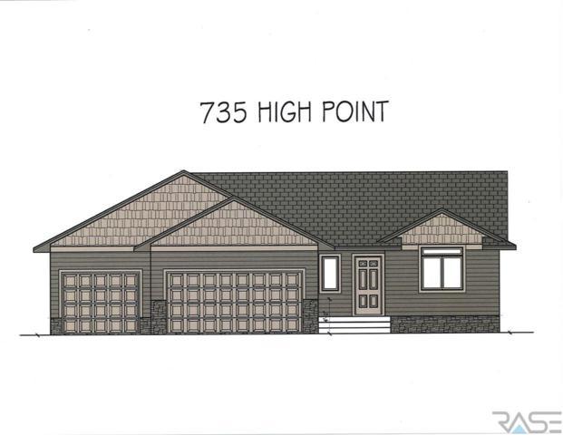 735 W High Pointe St, Tea, SD 57064 (MLS #21800751) :: Tyler Goff Group