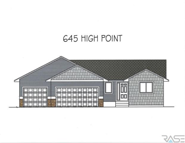 645 W High Pointe St, Tea, SD 57064 (MLS #21801156) :: Tyler Goff Group