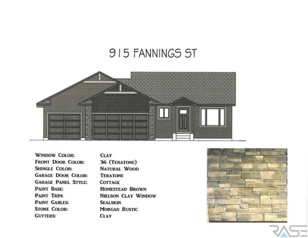 915 Fannings St, Tea, SD 57064 (MLS #21900813) :: Tyler Goff Group