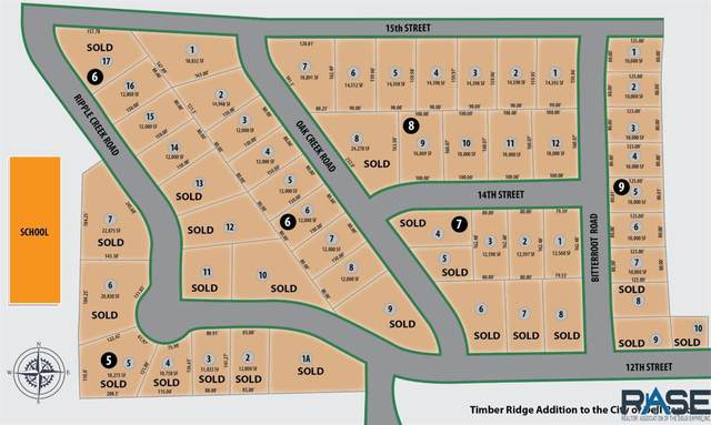 1406 Bitterroot Rd, Dell Rapids, SD 57022 (MLS #22003650) :: Tyler Goff Group