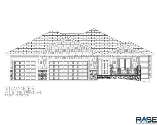 416 N Red Spruce Ave, Sioux Falls, SD 57110 (MLS #22004369) :: Tyler Goff Group