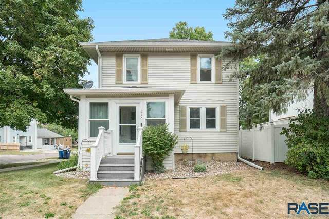 216 W 19th St, Sioux Falls, SD 57105 (MLS #22005687) :: Tyler Goff Group