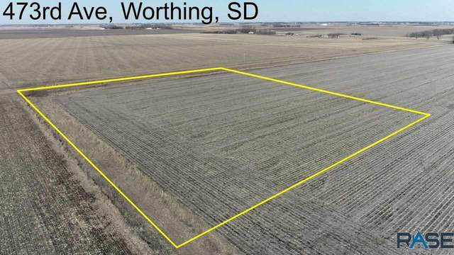 473rd Ave, Worthing, SD 57077 (MLS #22101010) :: Tyler Goff Group