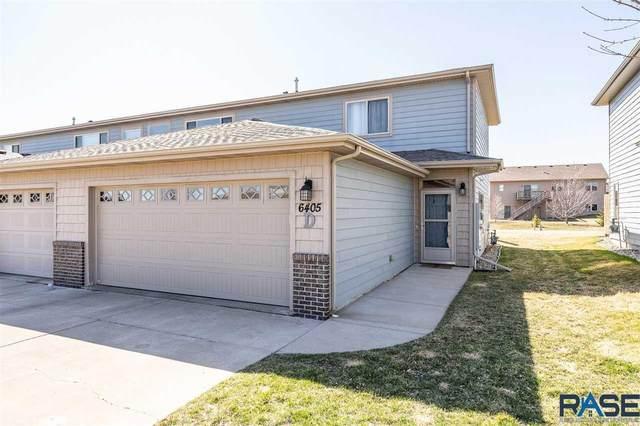 6405 S Santa Rosa Cir D, Sioux Falls, SD 57108 (MLS #22101494) :: Tyler Goff Group