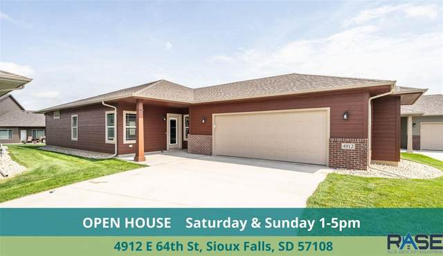 4912 E 64th St, Sioux Falls, SD 57108 (MLS #22005031) :: Tyler Goff Group