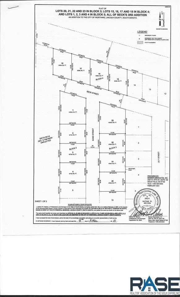 209 S Sund St, Worthing, SD 57077 (MLS #22102190) :: Tyler Goff Group