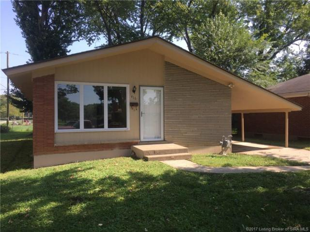 416 Mockingbird Drive, Jeffersonville, IN 47130 (MLS #2017010141) :: The Paxton Group at Keller Williams