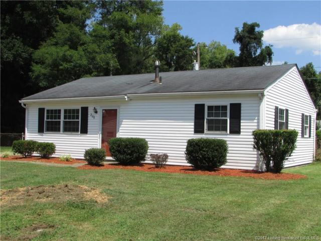 206 Lynda Avenue, Clarksville, IN 47129 (MLS #201708625) :: The Paxton Group at Keller Williams