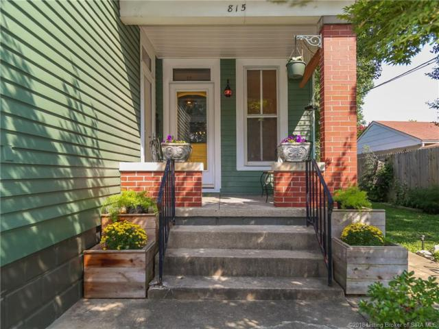815 E 7th Street, Jeffersonville, IN 47130 (MLS #2018011103) :: The Paxton Group at Keller Williams