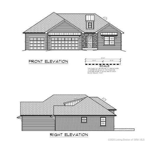 5648 Covington (Lot 1311) Drive, Charlestown, IN 47111 (MLS #2020010401) :: The Paxton Group at Keller Williams Realty Consultants