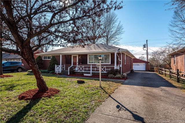 413 Mockingbird Drive, Jeffersonville, IN 47130 (MLS #202005387) :: The Paxton Group at Keller Williams Realty Consultants