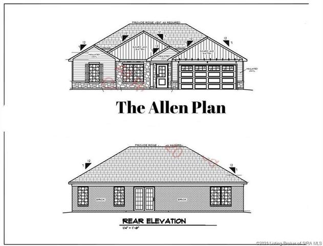 6559 Ashley Springs Court Lot 25, Charlestown, IN 47111 (#202105914) :: Impact Homes Group