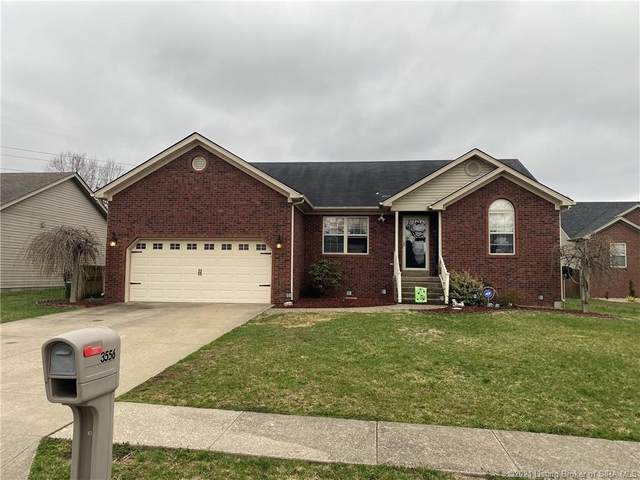 3556 Peach Tree Street, Jeffersonville, IN 47130 (MLS #202106462) :: The Paxton Group at Keller Williams Realty Consultants