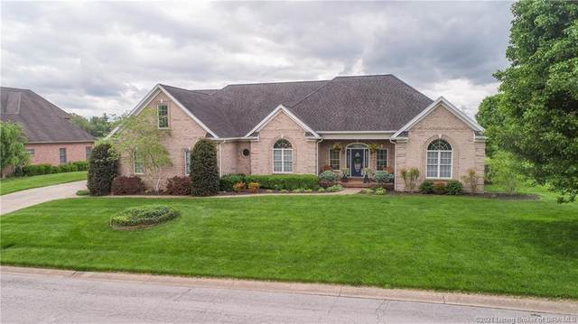 2809 Lake Vista Drive W, Jeffersonville, IN 47130 (#202107510) :: The Stiller Group