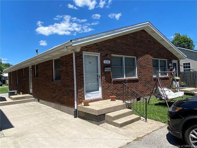328-330 332 S Fern Street #332, Sellersburg, IN 47172 (MLS #202108692) :: The Paxton Group at Keller Williams Realty Consultants