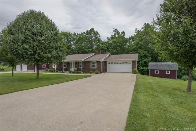 3418 Country Lane NE, Lanesville, IN 47136 (MLS #202108820) :: The Paxton Group at Keller Williams Realty Consultants