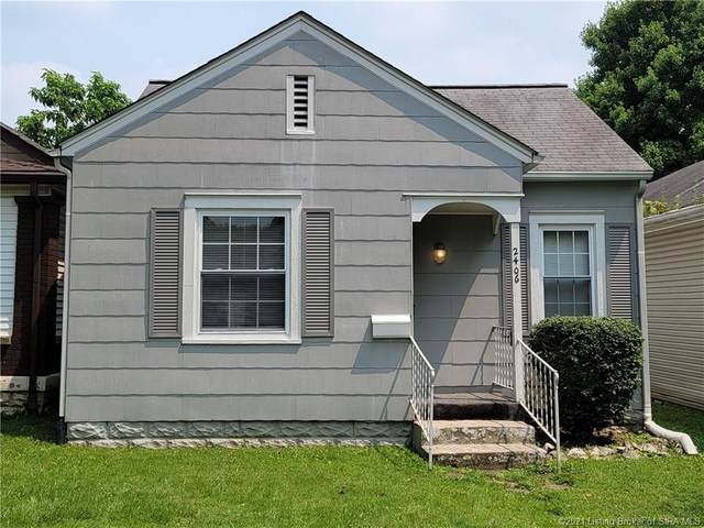 2406 Shrader Avenue, New Albany, IN 47150 (MLS #202109470) :: The Paxton Group at Keller Williams Realty Consultants