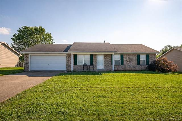 1106 Stonelilly Drive, Jeffersonville, IN 47130 (MLS #202109528) :: The Paxton Group at Keller Williams Realty Consultants