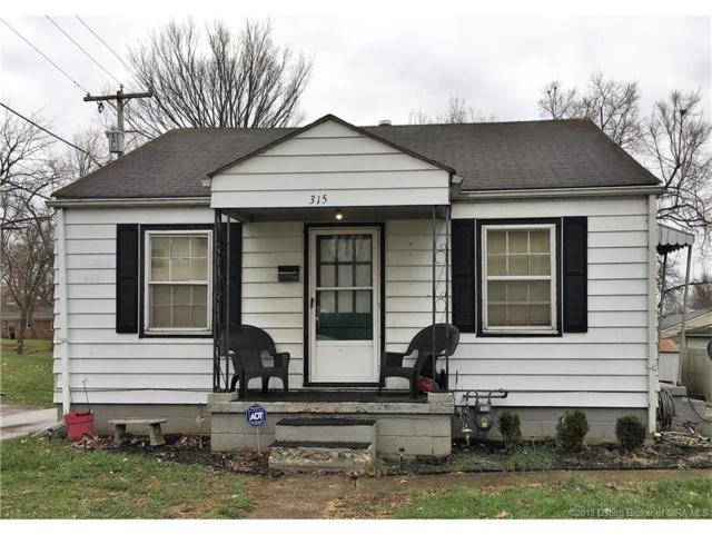 315 Lincoln Avenue W, Clarksville, IN 47129 (MLS #201806041) :: The Paxton Group at Keller Williams