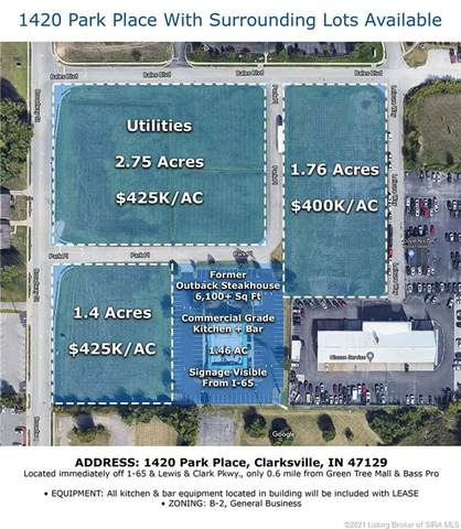 Park Place Tract 1, Clarksville, IN 47129 (#2021010042) :: The Stiller Group
