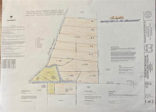 1869 S Getty Road S Lot 3, Lexington, IN 47138 (#202106485) :: The Stiller Group
