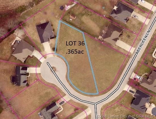 8403 Aberdeen (Lot36) Lane, Charlestown, IN 47111 (#2018011856) :: The Stiller Group
